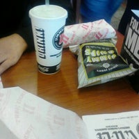 Photo taken at Jimmy John's by Kimmie P. on 8/13/2012