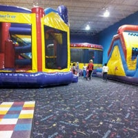 Photo taken at Pump It Up by Ricky G. on 3/31/2012