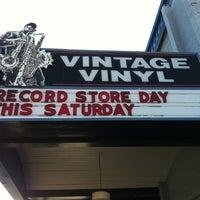 Photo taken at Vintage Vinyl by Jeet C. on 4/21/2012