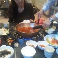Photo taken at 채선당 by HYE IL L. on 2/16/2012