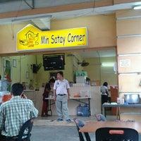 Photo taken at Min Satay Corner by N N. on 8/24/2012