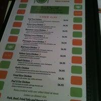 Photo taken at Pad Thai by Jade J. on 3/2/2012