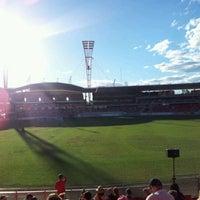Photo taken at Spotless Stadium by Lynn T. on 4/9/2012