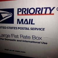 Photo taken at US Post Office by Stephane B. on 3/19/2012