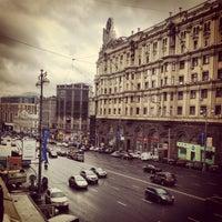 Снимок сделан в Тверская улица пользователем Mike S. 7/21/2012