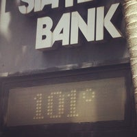 Photo taken at First State Bank by Mike M. on 8/13/2012