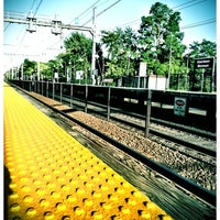 Photo taken at NJT - Aberdeen-Matawan Station (NJCL) by melissa h. on 7/22/2012