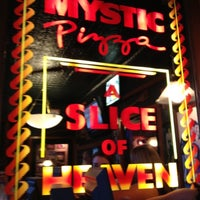 Photo taken at Mystic Pizza by James Q. on 8/18/2012