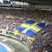 Foto scattata a Stadio Marc'Antonio Bentegodi da Valentina R. il 6/2/2012