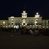 Photo taken at Piazza Unità d'Italia by Adham E. on 7/1/2012