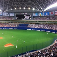 Photo taken at Nagoya Dome by Yoshio S. on 7/15/2012