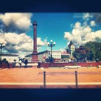 Снимок сделан в Площадь Победы пользователем   Valery C. 7/16/2012