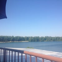 Photo taken at Blue Water Grill by Elizabeth O. on 6/8/2012