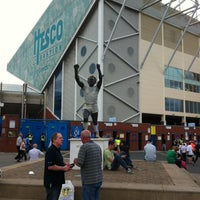Photo taken at Elland Road by T on 8/18/2012