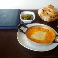 Photo taken at Teras Cafe (Beyaz Kale) by Serap D. on 9/7/2012