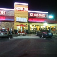 Photo taken at Cookout by Travis G. on 5/11/2012