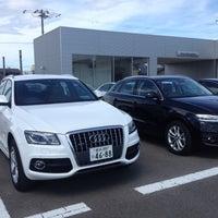 Photo taken at Audi 金沢 by Masao M. on 7/16/2012