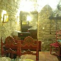 Photo taken at Bodegas del Sobrarbe by Gabriel L. on 9/2/2012