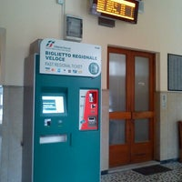 Photo taken at Stazione Vittorio Veneto by Gabriele K. on 2/10/2012