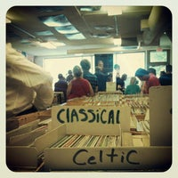 Photo taken at Val's Halla Records by Samantha D. on 7/29/2012