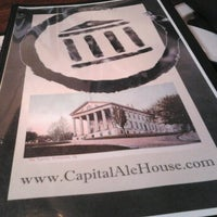 Photo taken at Capital Ale House by Sue H. on 6/25/2012