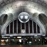 Photo taken at Basel Baden Railway Station by Lo C. on 3/18/2012