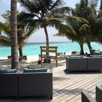 Photo taken at Vilamendhoo Island Resort & Spa by Jhoana N. on 4/23/2012