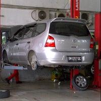 Photo taken at Nissan Arengka by Izwan I. on 6/9/2012