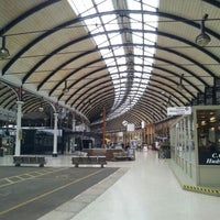 Photo taken at Newcastle Central Railway Station (NCL) by Stephen M. on 8/27/2012