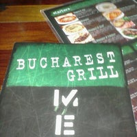 Photo taken at Bucharest Grill by Scott V. on 4/11/2012