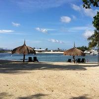 Photo taken at Bluewater Maribago Beach Resort by llehcir on 8/19/2012