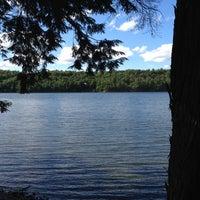 Photo taken at Wolfe Lake by George K. on 8/17/2012