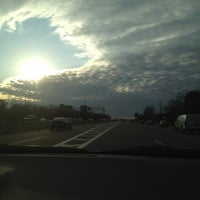 Photo taken at Long Island Expressway (LIE) (I-495) by Meagan K. on 2/27/2012