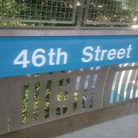 "Photo taken at SEPTA MFL 46th Street Station by ""Bahiraa"" on 5/27/2012"