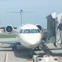 Photo taken at South Bend International Airport (SBN) by Pam E. on 8/8/2012