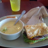 Photo taken at Panera Bread by Conrad P. on 8/20/2012