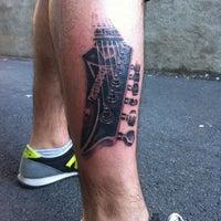 9/13/2012 tarihinde Barış H.ziyaretçi tarafından Diagon Tattoo'de çekilen fotoğraf