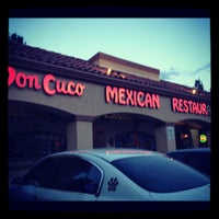 Photo taken at Don Cuco Mexican Restaurant by Veronica B. on 5/26/2012