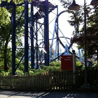 Photo taken at Hersheypark by Sarah C. on 5/19/2012