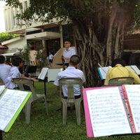 Photo taken at สวนจตุรทัศวรรษ โรงเรียนหอวัง by Harpojh:) on 6/13/2012