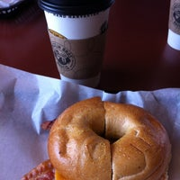Photo taken at Einstein Bros Bagels by Phillip J. on 6/24/2012