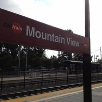 Photo taken at Mountain View Caltrain Station by Tetsuya W. on 7/25/2012