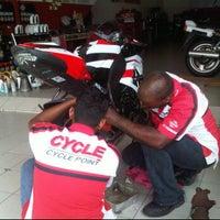 Photo taken at Cycle Point Motosport Sdn Bhd Nilai by Ed F. on 3/7/2012