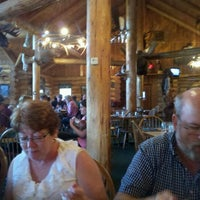 Photo taken at Guy's Lolo Creek Steakhouse by Kenneth J. on 7/2/2012