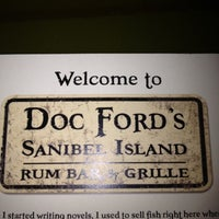 Photo taken at Doc Ford's Rum Bar & Grille by Patty B. on 8/1/2012