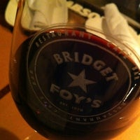 Photo taken at Bridget Foy's by Milagros C. on 2/29/2012