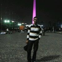 Photo taken at Lapangan Silang Monas by Syamsoel H. on 8/6/2012