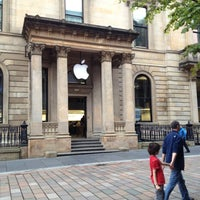 Photo taken at Apple Buchanan Street by Daniel T. on 8/14/2012