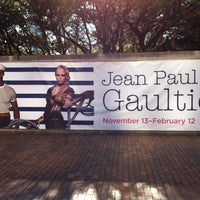 Photo taken at The Fashion World Of Jean Paul Gaultier At The Dallas Museum Of Art by Rafael J. on 2/11/2012