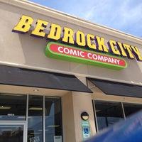 Photo taken at Bedrock City Comic Company by Brian Z. on 4/26/2012